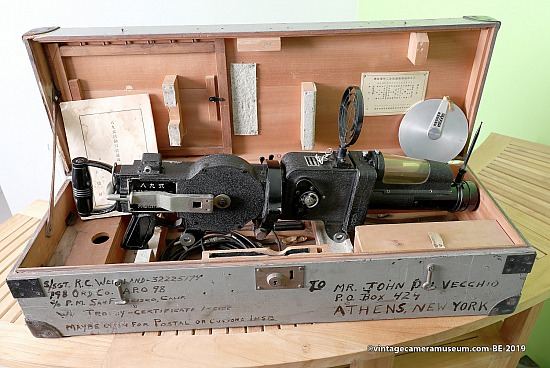 "Konishi ""Rokuoh-Sha"" Type 89 Japanese WWII Machine Gun Camera"